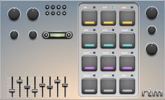 drum machine interface designs