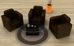 furniture render