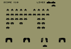 Invaders - in game