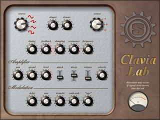 Clavia-Lab interface