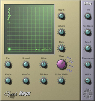 Spook Keys interface