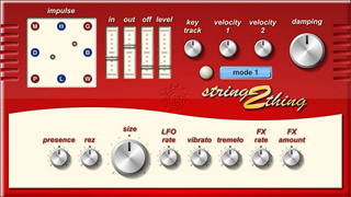 String Thing 2 interface