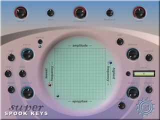 Super Spook Keys interface