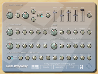 super string thing interface